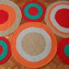 10 100x100 - Alfombra circulos rectangular