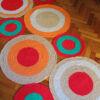 12 100x100 - Alfombra circulos rectangular
