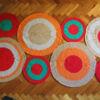 14 100x100 - Alfombra circulos rectangular