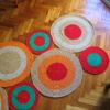 15 100x100 - Alfombra circulos rectangular