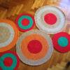 16 100x100 - Alfombra circulos rectangular
