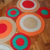 9 100x100 - Alfombra circulos rectangular