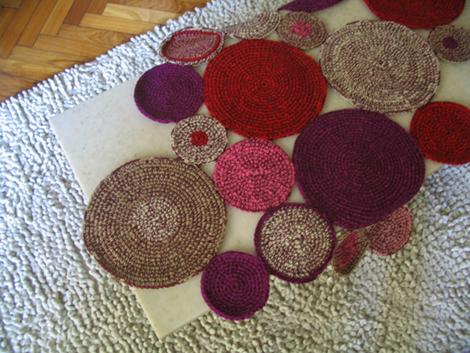 alfombra circular1 - Camino