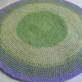 alfombra lila verde3 2 160x160 - Alfombra redonda