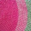 alfombra rosayverde2 100x100 - Alfombra redonda