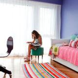 alfombras cuadradas 1 160x160 - Alfombra cuadrada a rayas