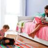 alfombras cuadradas 3 100x100 - Alfombra cuadrada a rayas