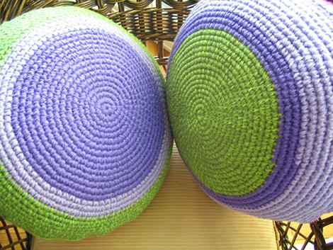 crochet almohadon.3 - Almohadón redondo