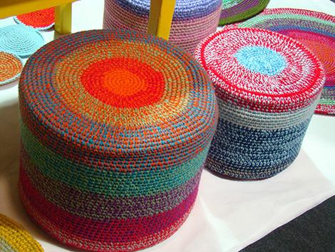 puff crochet - Puff grande