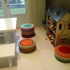 puff tejidos playroom 1 300x300 - Puff bajo