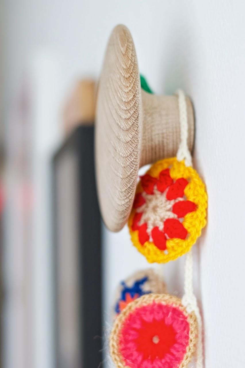 crochet deco ideas - Decora la habitación de los niños con crochet