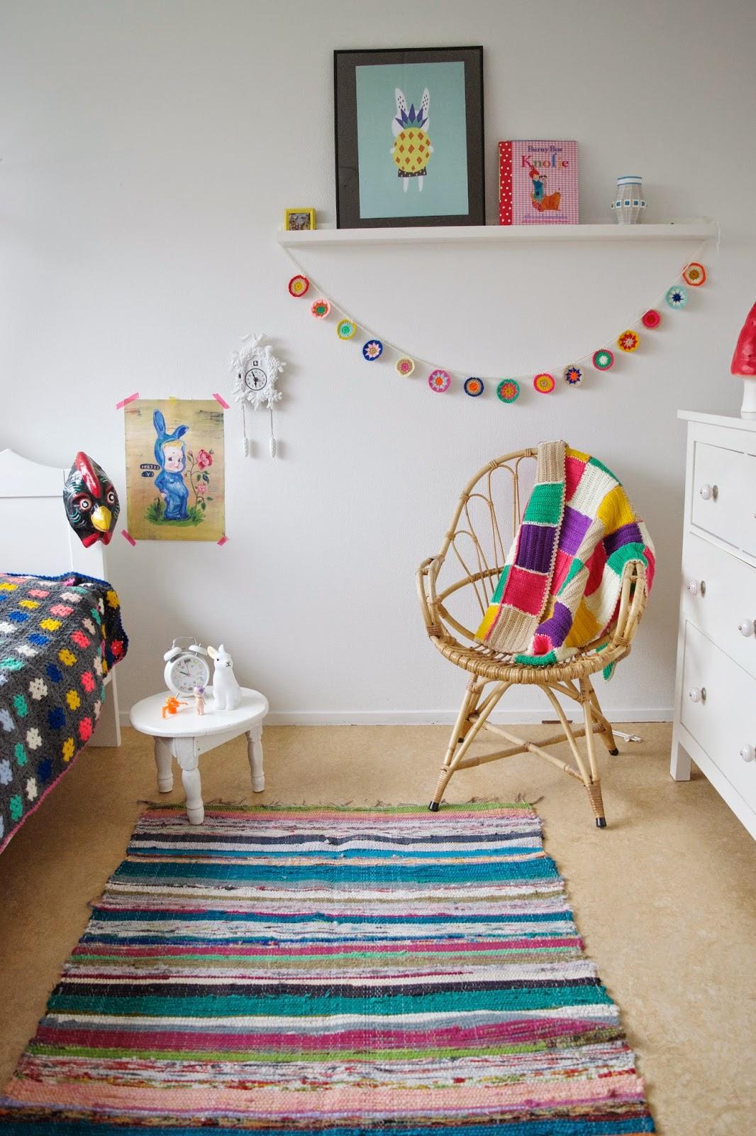 crochet deco infantil - Decora la habitación de los niños con crochet