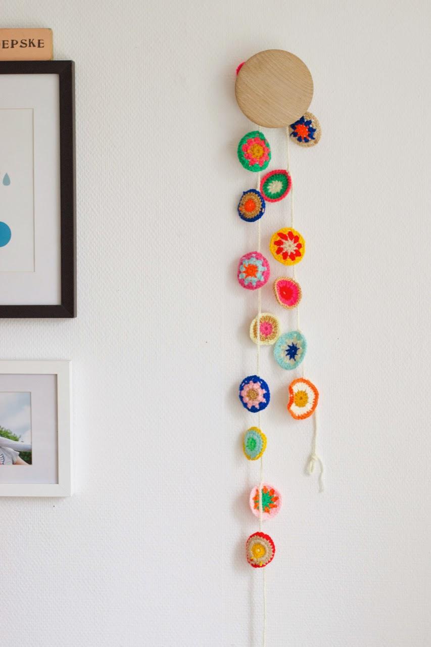 crochet nursery deco - Decora la habitación de los niños con crochet