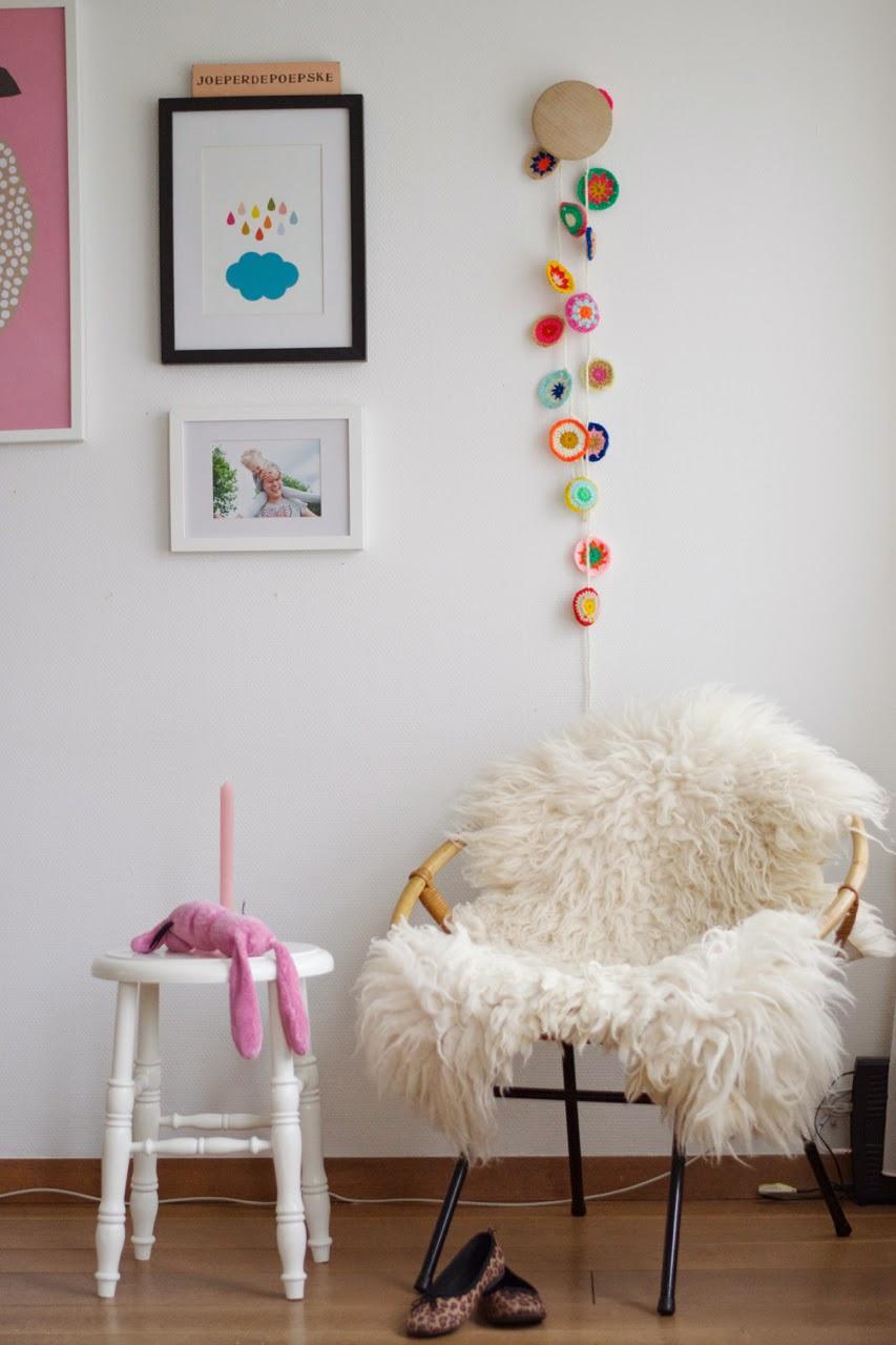 crochet nursery decoration - Decora la habitación de los niños con crochet