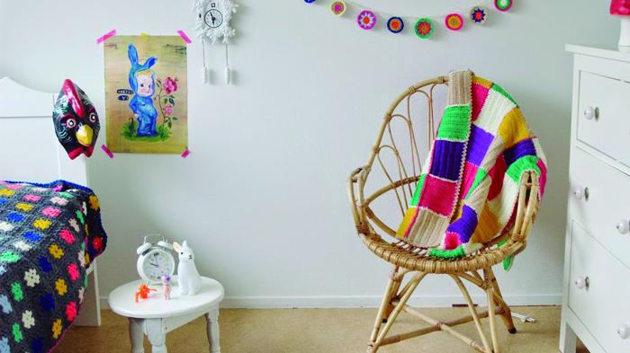 nursery crochet deco - Decora la habitación de los niños con crochet