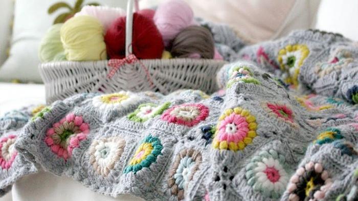 Mantas a crochet hechas a medida PUERTA AL SUR