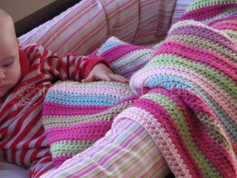 manta crochet bebe deco infantil - Que tamaño de manta conviene para un bebe?
