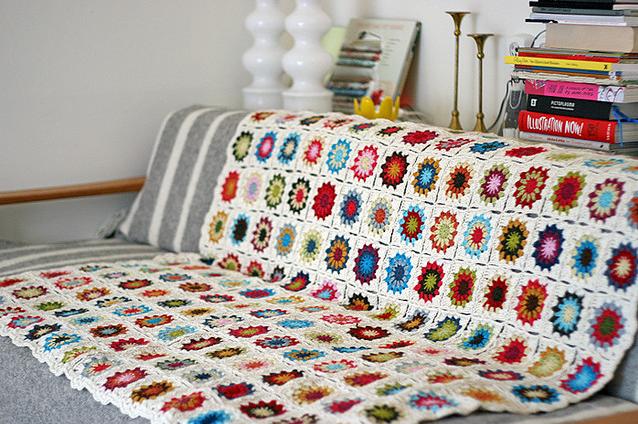 cubre sillon manta crochet - Mantas tejidas para el sillón, detalles de decoracion para crear espacios acogedores