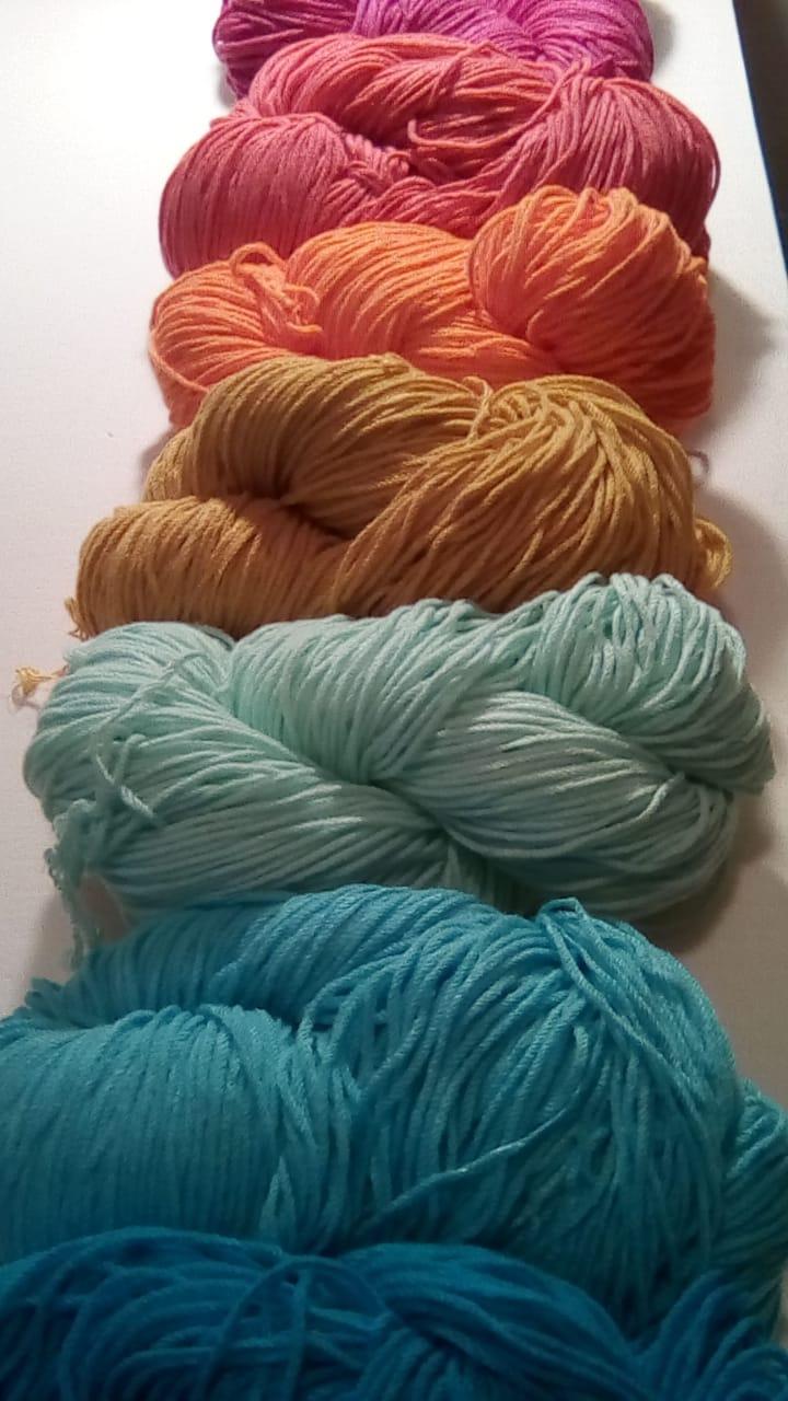 alfombra rayas crochet.lana colores - Tu alfombra en pocos pasos