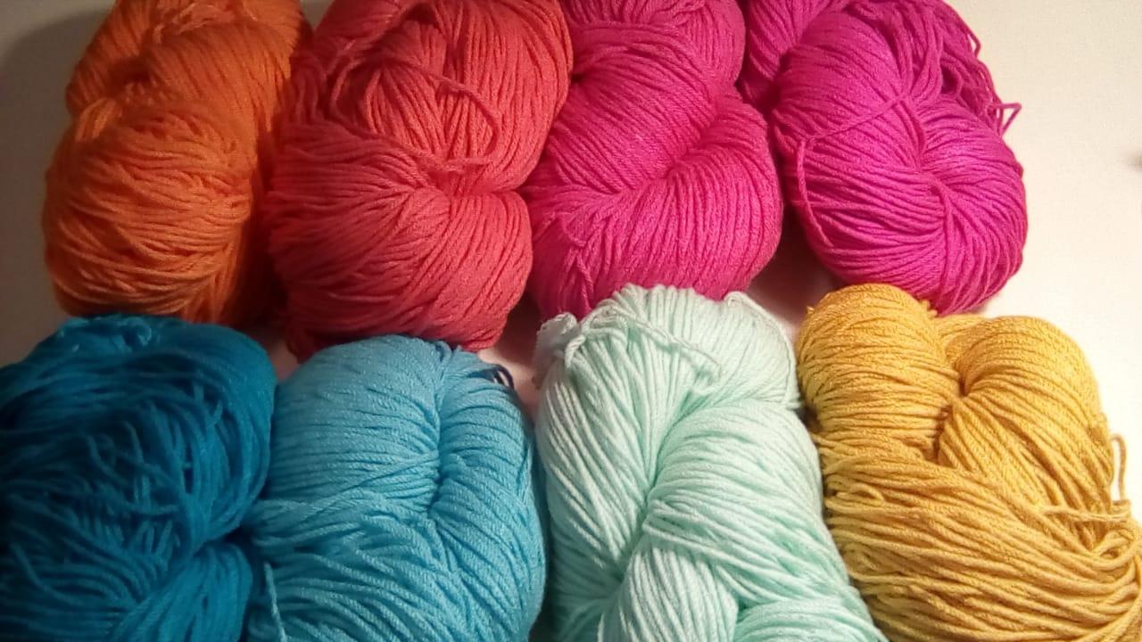 lana alfombra rayas crochet - Tu alfombra en pocos pasos