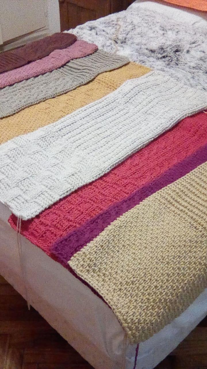 tejidos covertor 1 - Cubrecama tejido a dos agujas